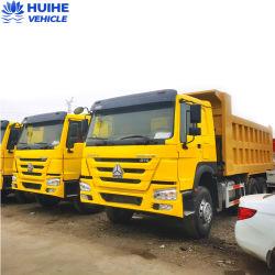 Usado Sino Truck Sinotruck Caminhão Basculante usado marca HOWO 6X4 para a África Rhd caminhão de caixa basculante