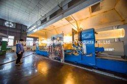 Tubo di fornace a temperatura elevata personalizzato professionista del quarzo di resistenza con la flangia