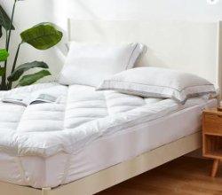 Beddengoed Bed Pad Microfiber mat mat mat mat groot formaat 100% katoen stof Met 7D Microfiber matras voor thuis