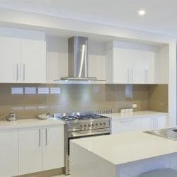 Proyecto de fábrica China de rectificado de forma Estructura I Panting gabinetes de cocina