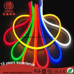 ضوء LED برتقالي اللون 12 فولت/24 فولت/110 فولت/220 فولت مع ضوء الحبل المرن للنيون مع CE وتوجيه تقييد استخدام المواد الخطرة (Ro