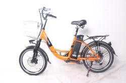 Femme de la route Vélo Electrique / 20 pouces 36V 350W Batterie au Lithium Certificats Ce 7 Speed Mz-466