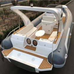لييا 8.3M قوارب سرعة الرفاع الصلبة زورق راكب القابل للنفخ جمجمة قوارب الصيد في المقصورة للبيع