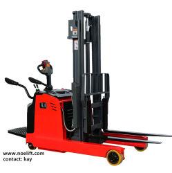 Counterbalance van de Ruiter 1.5tons 2tons de Elektrische Vorkheftruck van de Vrachtwagen van het Bereik voor Verkoop
