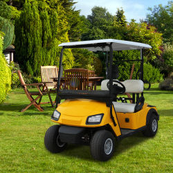 Правовые движении 2 человека поле для гольфа тележки, 48V работает от батареи легкие двухместные коляски для гольфа с регулируемого сиденья