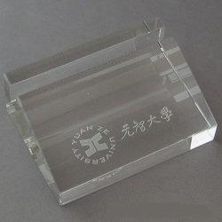 Diseño de fondo de cristal Nombre de empresa Caja de tarjetas (JD-BJ-009)