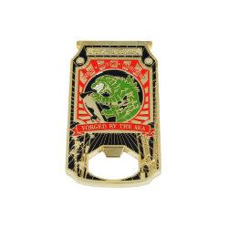 주문 금속 가죽 기념품 (OPENER-37)를 위한 트롤리에 의하여 개인화되는 동전 명목 병따개