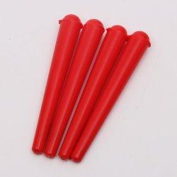 El tubo de plástico rojo personalizados de fábrica de conos de embalaje laminados conos para fácil antes de fumar