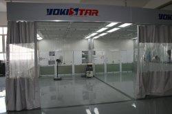 Estação de preparação para manutenção de Cortina de PVC Marcação cabine de spray de tinta para carro