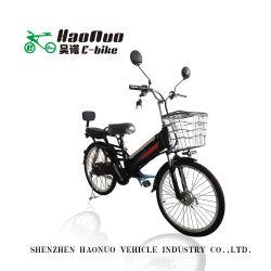 販売のための24台のインチ48V 18ahのライオン電池500wattブラシレスギヤモーター頑丈な貨物電気自転車