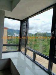 Fábrica de Foshan Atacado alumínio portas de vidro duplo e janelas extremamente Porta deslizante lateral estreita