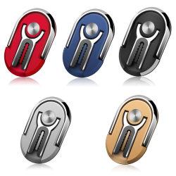 2 in 1 Umdrehungs-Metallfinger-Ring-Griff-Standplatz-Handy-Halter der Luft-Luftauslass-Auto-Telefon-Montierungs-360 für Auto