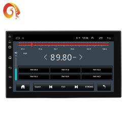 GPSデジタルの容量性接触Bluetooth USB TFステレオの無線車プレーヤーが付いている人間の特徴をもつシステム2DIN 7インチ車7168cはインゴットエムピー・スリーMP5 FM車二倍になる