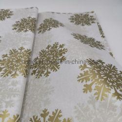 La impresión de logotipo propio un pañuelo de papel de envoltura de regalos