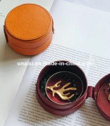 Changement de pièce de cuir sac à main boîte cadeau de cas de stockage pour les bijoux