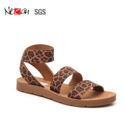 Leopard Lady diapositives sexy fashion femmes sandales