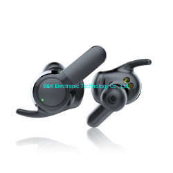 2019 новый дизайн Amazon hot продажа Tws стерео спортивные водонепроницаемые сенсорные кнопки управления беспроводной гарнитуры Bluetooth