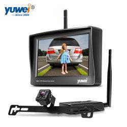 Drahtloser backup hintere Ansicht-Kamera-Monitor-Installationssatz mit Nachtsicht-wasserdichter Kamera 12V-32V für Auto SUV Van
