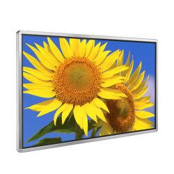 Montage mural 55 Inch ultra-léger de signalisation numérique Cadre photo numérique à LED de signalisation numérique LCD TV LCD de bus du logiciel du capteur de mouvement de la publicité d'affichage LCD