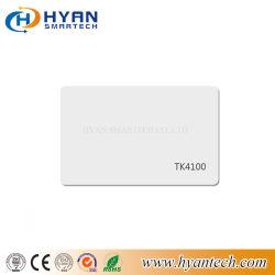 Het Witte Slimme Read-Only Identiteitskaart van de geschikt om gedrukt te worden Tk4100 van de Kaart 125kHz- Nabijheid