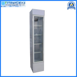 Kitchen POS를 위한 상업적인 Upright Glass Door Display Showcase Refrigerator Catering Equipment
