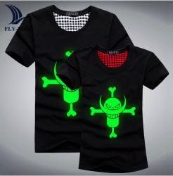 t-셔츠를 위한 서류상 장을 인쇄하는 어두운 PU 스티커 애완 동물 빛난 비닐 필름 물자 열전달 압박에 있는 놀은 로고를 입는다
