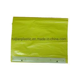 Водонепроницаемый Headcard пластиковой упаковки одноразовый PE фартук