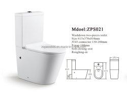 El impulso de promoción de cuarto de baño Wc de enjuague de la gravedad de cerámica de forma redonda Wc wc de dos piezas de porcelana sanitaria