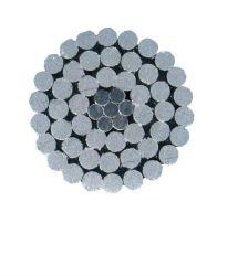 Commerce de gros frais généraux ACSR conducteur aluminium nu sur le fil de base en acier