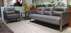 Для отдыхающих туристов современный кожаный диван для офиса и холл