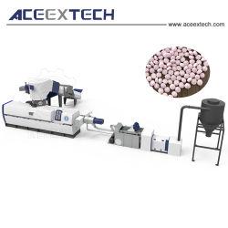 La formation de mousse d'évacuation à vide granules de plastique Machine de production