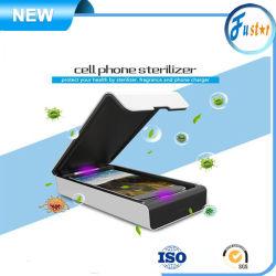Hoher leistungsfähiger UVc-heller Sterilisator iPhone6/Desinfizierer-Handy-Deckel mit drahtloser Aufladeeinheit