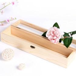 Wooden Best Price Eco-friendly مصنع مستطيلة يبيع التغليف أزياء هدية صندوق
