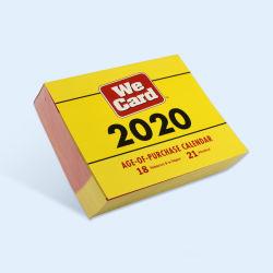 購入2020カレンダの年齢は日の立案者を切取る