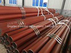 ASTM A106 гр. B API 5L бесшовных стальных трубопроводов Окраска эпоксидной смолы