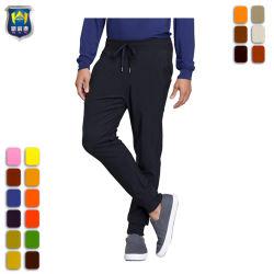 基本的な無地および伸張のあや織りファブリックメンズジョガーのズボン