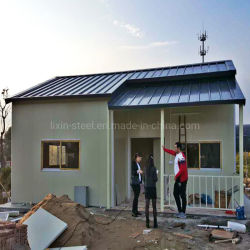 Estrutura de aço Modular Prefab económica Villa Casa Prédio prefabricadas