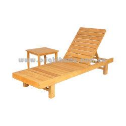 شاطئ أثاث لازم [سون] [لوونجر] [تك] [لوونجر] خشبيّة أثاث لازم خارجيّ