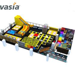 Jeu de jeu pour enfants de l'équipement multifonction Terrain de jeux intérieur pour l'exercice