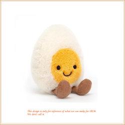 연약한 계란 소년 장난감 주문품 견면 벨벳 안락 음식
