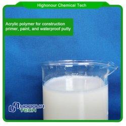 Produits chimiques chinois de styrène la résine de polyester acrylique pour la peinture murale
