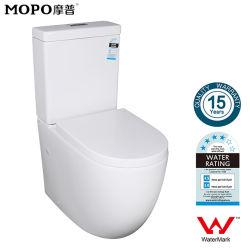 二つの部分から成った同じ高さの水透かしの洗面所浴室陶磁器WCは二倍になる