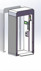 Het Infrarode Kanaal Thermometry van de school met Ce en RoHS/School Aangepaste Mobiele Deur Thermometry/het Mobiele Kanaal van Mesurement van de Temperatuur van de School
