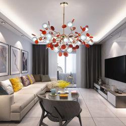 LED Accueil Décoratifs Modernes Caisson suspendu intérieur d'éclairage, lustre en cristal, plafond à la lumière, l'agate lampe de la poignée de commande
