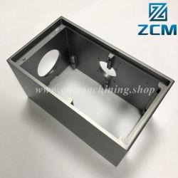 Fresado 4 ejes de aluminio mecanizado CNC eléctrico Gabinete de Unidad de Disco Duro HDD