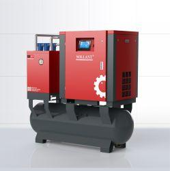Tutti in un compressore d'aria portatile Integrated del compressore d'aria della vite di 11kw 15HP 380V 50Hz 415V 50Hz per il lavaggio dell'automobile