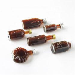 Mini bottiglie di whisky del piccolo regalo con il materiale di cristallo