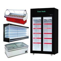 Supermarkt Frozen Display Stand Kühlbar Freeze Display Counter Frozen Gekühlt Eistisch Mit Meeresfrüchten