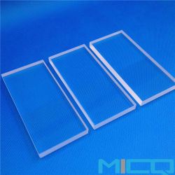 Qualitäts-Silikon fixierte optische Quarz-Glaspolierplatte/Platte Jgs1/Jgs2/Jgs3