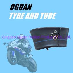 CCCが付いている18インチOEMの新しいオートバイの自然なかButylゴム内部管(250-18)